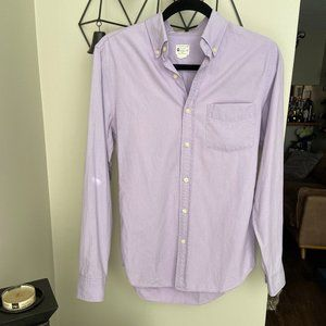J. Crew Sunwashed Oxford Button Down Shirt